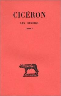 Les Devoirs, tome 1, livre I, introduction