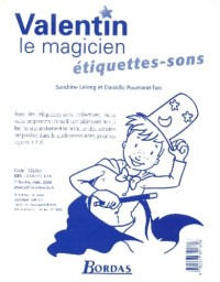 ETIQUETTES MOTS - SONS VALENTIN LE MAGICIEN 2006