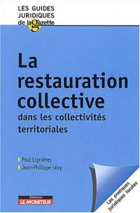 La restauration collective dans les collectivités territoriales