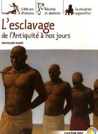 L'esclavage de l'Antiquité à nos jours