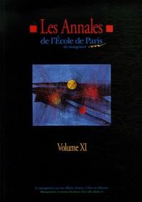 Les Annales N° 11 de l'Ecole de Paris du management : Travaux de l'année 2004