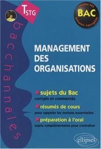 Management des organisations : Terminale STG