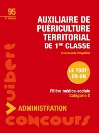 Auxiliaire de puériculture territorial de 1e classe