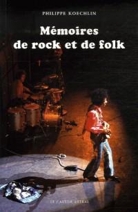 Mémoires de rock et de folk
