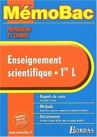 MEMO PREPA EXAM ENSEIGN. SCIENT.1ERE L    (Ancienne Edition)