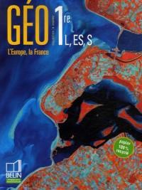 Géo 1e L, ES, S : L'Europe, la France
