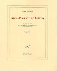 Anne-Prospère de Launay : L'amour de Sade