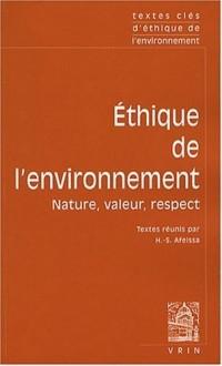 Textes Cles d'éthique de l'environnement