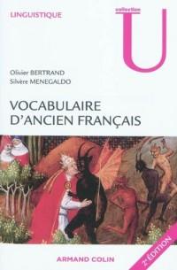 Vocabulaire d'ancien français: Fiches à l'usage des concours