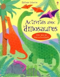 Activites avec les Dinosaures avec Plus de 400 Autocollants