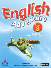English Adventure Cycle 3 Niveau 1