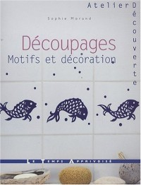 Découpages motifs et décoration