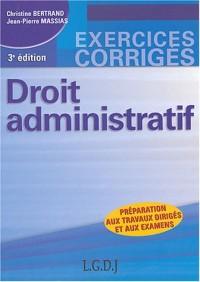 Droit administratif : Préparation aux travaux dirigés et aux examens