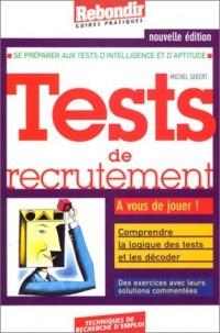 Tests de recrutement