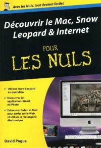 Découvrir le Mac, Snow Leopard et Internet pour les nuls