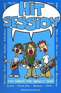 Hit Session: 100 Songs You Really Sing. Partitions pour Ligne De Mélodie, Paroles et Accords(Symboles d'Accords)