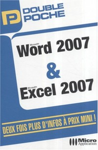 Word 2007 et Excel 2007