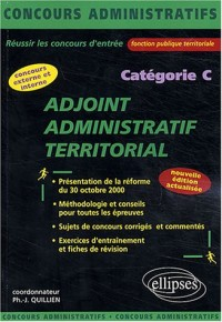 Adjoint administratif territorial : Catégorie C
