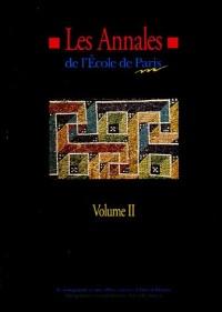 Les Annales de l'Ecole de Paris du management : Volume 2, Travaux de l'année 1995