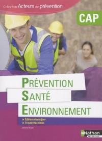 Prévention Santé Environnement CAP Acteurs de prévention