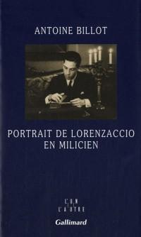 Portrait de Lorenzaccio en milicien