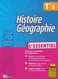 Histoire-géographie 1e S : L'essentiel