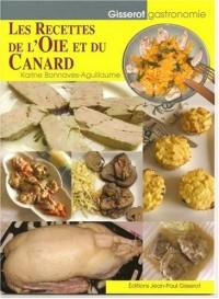 Recettes de l'Oie et du Canard