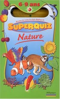 Coffret Nature Superquiz 6-9 ans