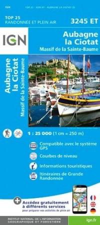 3245et Aubagne/la Ciotat/Massif de la Sainte-Baume