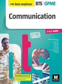 Communication - BTS 1&2 GPME - Éd. 2018 - Manuel