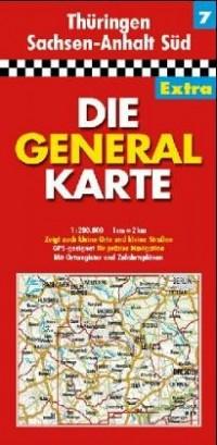 All.7 Thuringen/Sachsen-Anhalt Sud - 1/200.000