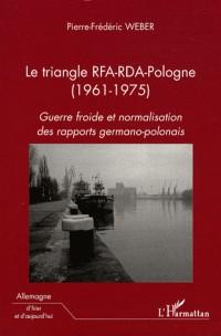 Le triangle RFA-RDA-Pologne (1961-1975)