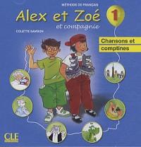 CD Ind Alex et Zoe Niveau 1 Ne - Chansons et Comptines