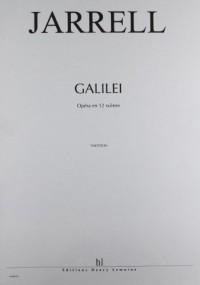 Galilei - Opéra en 12 scènes
