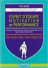 Esprit d'équipe, motivation et performance : Pertinence et impertinence de l'usage de la métaphore sportive dans le monde de l'entreprise