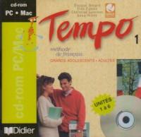 Tempo, 1 : Méthode de français, (CD Rom de l'élève)