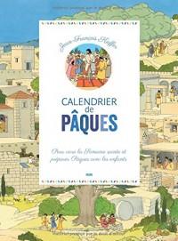 Mon calendrier de Pâques : Avec un livret