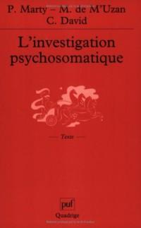 L'Investigation psychosomatique