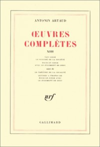 Oeuvres complètes, tome 13