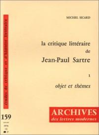La critique littéraire de Jean-Paul Sartre