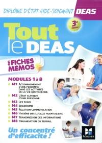 Tout le DEAS en fiches mémos - IFAS - Diplôme Etat Aide-soignant - 3e éd - Révision