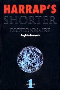 Harrap's Shorter anglais-français, tome 1