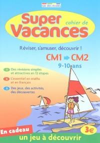 Super cahier de Vacances du CM1 vers le CM2