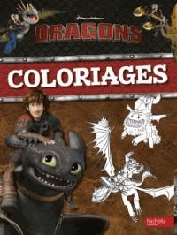 Dreamworks Dragons - Coloriages et Autocollants