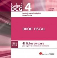 Carrés DCG 4 - Droit fiscal