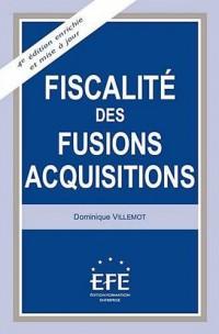 Fiscalité des fusions-acquisitions