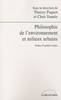 Philosophie de l'environnement et milieux urbains
