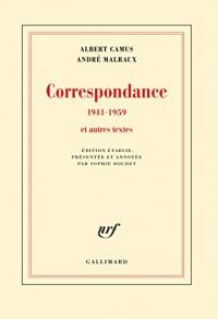 Correspondance (1941-1959)