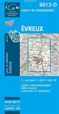 Evreux GPS: Ign2013o