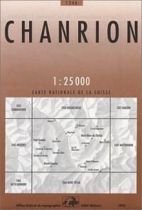 Carte de randonnée : Chanrion